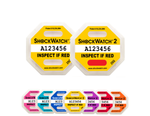 Indicateur de choc shockwatch 2