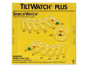 indicateur d'inclinaison tiltwatch plus