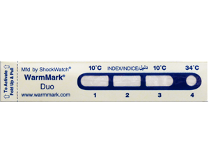 Indicateur de température : WarmMark
